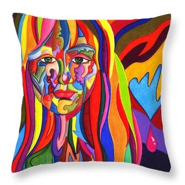 Muse Metamorphosis Throw Pillow