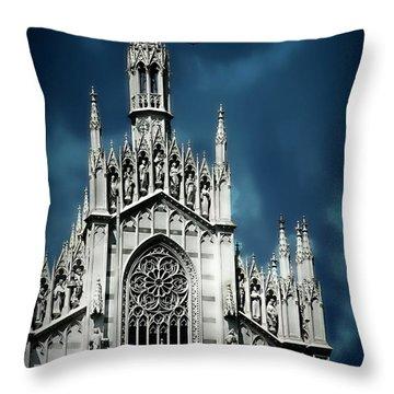 Museo Delle Anime Dei Defunti Throw Pillow