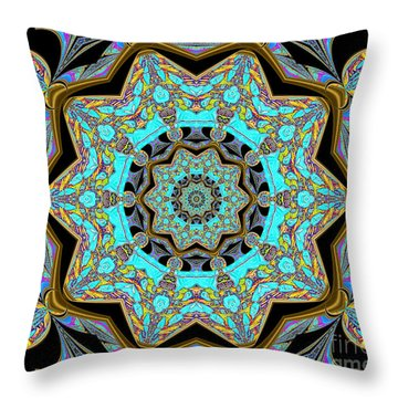 Music And Soul Throw Pillow