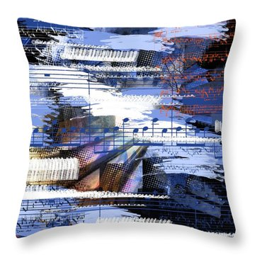 Music From Ama Throw Pillow