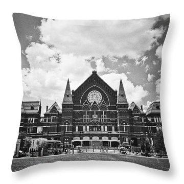 Music Hall 2 Throw Pillow