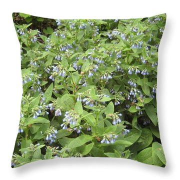 Music In The Bush Throw Pillow