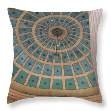 Music Monument Throw Pillow