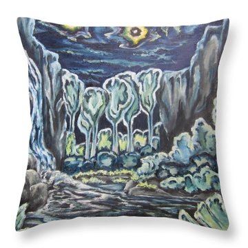 Music Of The Night Throw Pillow
