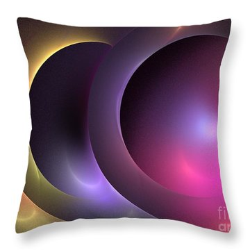 Music Of The Spheres Throw Pillow by Kim Sy Ok