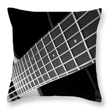 Music To My Soul Throw Pillow by Andrea Anderegg