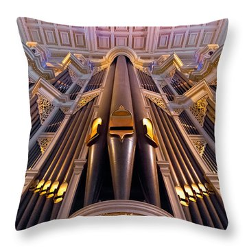 Musical Aspirations Throw Pillow