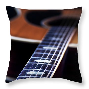 Musical Memories Throw Pillow by Tamyra Ayles