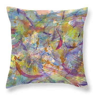 Musical Play Throw Pillow