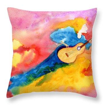 Musical Spirit 19 Throw Pillow
