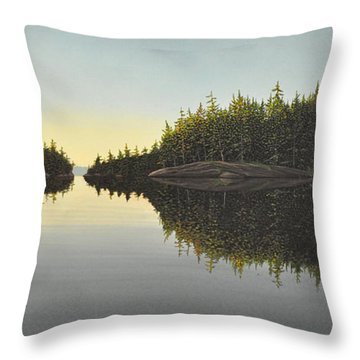 Muskoka Solitude Throw Pillow