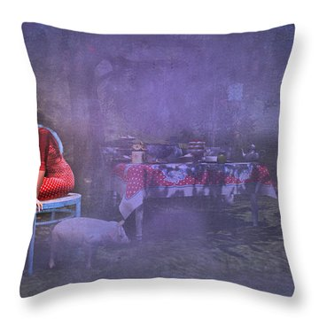 Must Have Been A Dream Throw Pillow by Kylie Sabra
