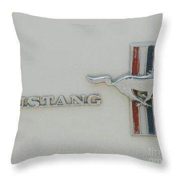 Mustang Throw Pillow
