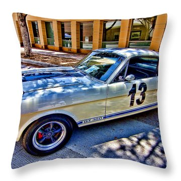 Mustang Gt 350 Throw Pillow