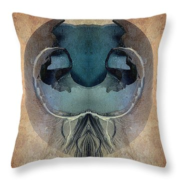 Mutation Throw Pillow by WB Johnston