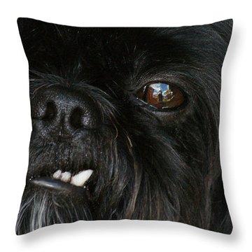 Mutley Throw Pillow