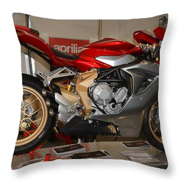 Mv Agusta Throw Pillow