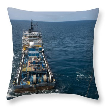 Mv Art Carlson Throw Pillow