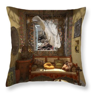 My Art In The Interior Decoration - Morocco - Elena Yakubovich Throw Pillow