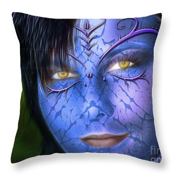 My Avatar Throw Pillow by Bruno Santoro