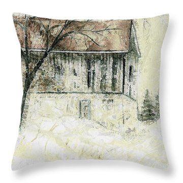 Caledon Barn Throw Pillow