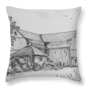 My Barn Throw Pillow