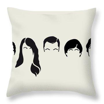 My-big-bang-hair-theory Throw Pillow