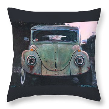 My Bug Throw Pillow