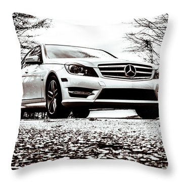 My C250 Throw Pillow by Wade Brooks
