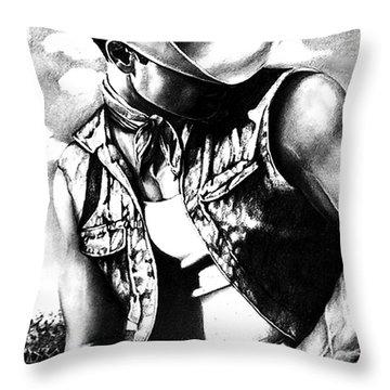 My Cowboy Man Throw Pillow