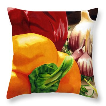 My Cutting Board Throw Pillow