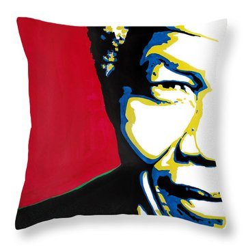 My Dear Nelson Mandela Throw Pillow