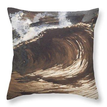 My Destiny Throw Pillow by Victor Hugo