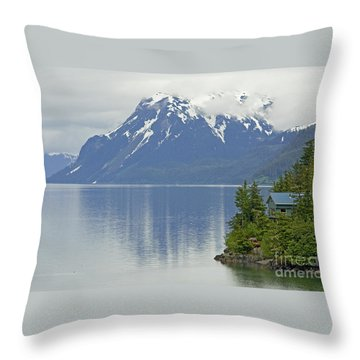 Throw Pillow featuring the photograph My Dream Home by Nick  Boren