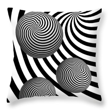My Eyes Hurt Throw Pillow by Steve Purnell