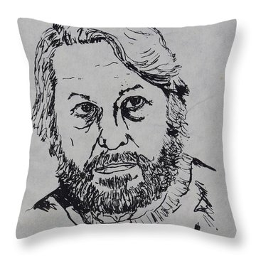 My Father 1973 Throw Pillow