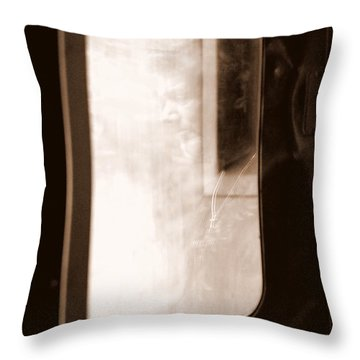 Throw Pillow featuring the photograph My Father by Faith Williams