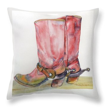My Favorites Throw Pillow