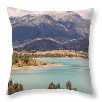 Throw Pillow featuring the photograph My Favourite Artist by Rosemary Colyer