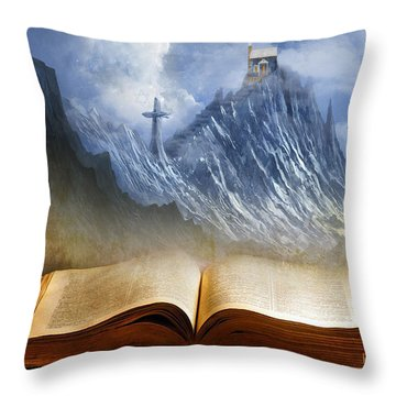 My Firm Foundation Throw Pillow