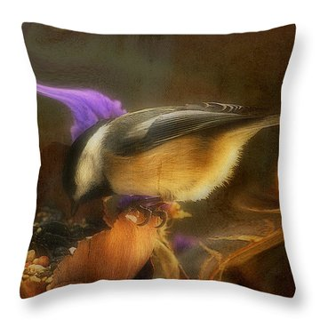 My Good Fortune... Throw Pillow
