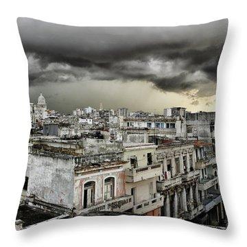 My Havana Roof Throw Pillow