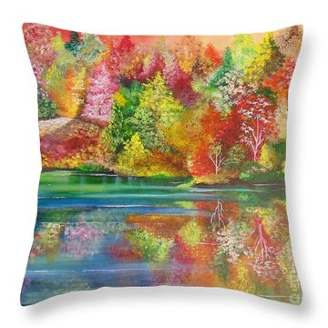 My Hiding Place Throw Pillow