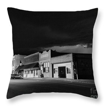 My Home Town II Throw Pillow by Steven Reed