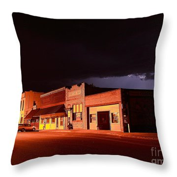 My Hometown Throw Pillow by Steven Reed