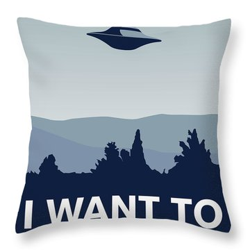 Ufo Throw Pillows