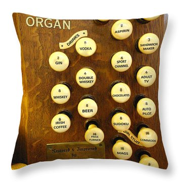 My Ideal Organ Throw Pillow