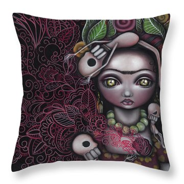 My Inner Feelings Throw Pillow