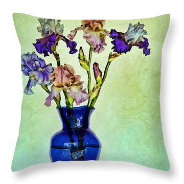 My Iris Vincent's Genius Throw Pillow