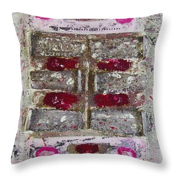 My Jewel Throw Pillow by Mini Arora